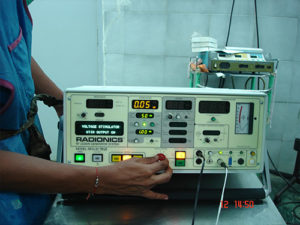 Radiofrequency lesion generator