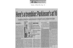Hiteshu's News Coverage in DNA Mumbai 13-May-2014