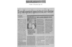Hiteshu's News Coverage in Hindustan Times 13-May-2014