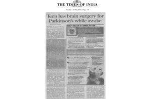 Hiteshu's News Coverage in TOI 13th-May-2014