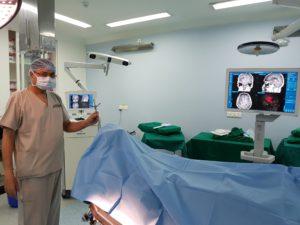 Neuronavigation-Planning of tumor surgery