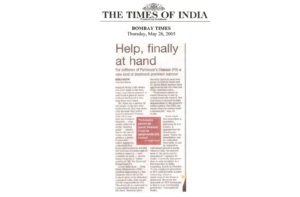 Times Of India 26-May-2005