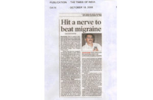 Times Of India (Migrane-)-18-July-2008