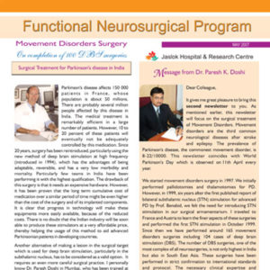 Disorder Surgery Newsletter