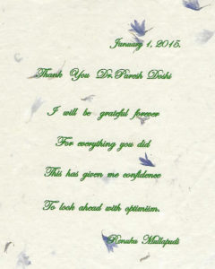 Thankyou Letter