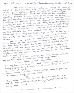Appreciation Letter By Mrs. Sheth
