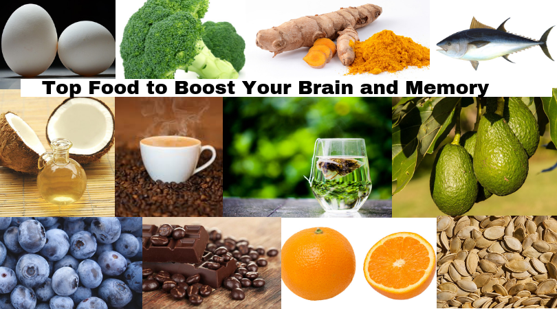 Top Food to Boost Your Brain and Memory